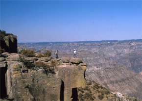 View of Copper Canyon's Balancing Rock