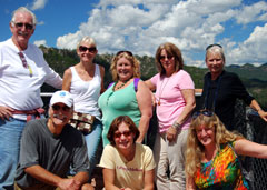 Travel Agent Guests in Mexico's Copper Canyon
