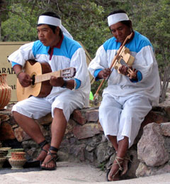 Tarahumara Musicians in Mexico's Copper Canyon