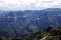 View of Mexico's Copper Canyon