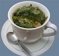 In the Peruvian Andes, coca tea helps cope with the altitude.