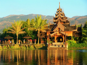 Hotel on Inle Lake