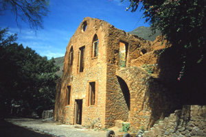 Ruins of the Shepherd Hacienda in Batopilas.