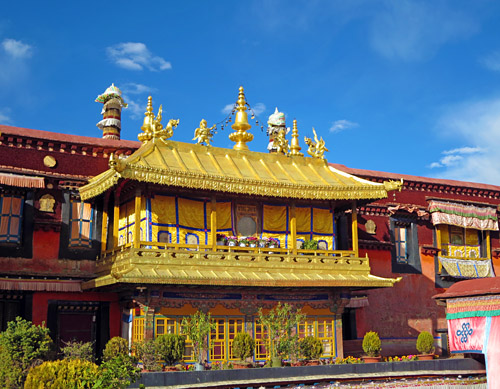 Johang Temple in Lhasa Tibet.