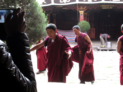Monks of Jokhang Temple