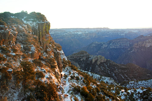 Copper Canyon has so many amazing canyon views! Photo by Harry Scott