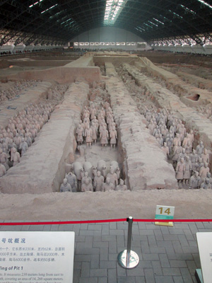 Discovered in 1974, China's Terracotta Warriors are regarded as one of the most significant archeological discoveries of the 20th century.