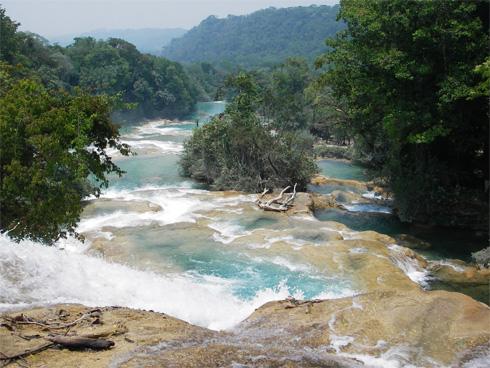 Agua Azul Falls in Chiapas