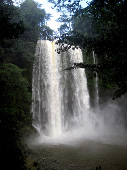 Misol Ha Falls in Chiapas, Mexico
