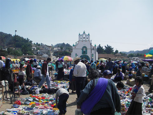 Market in San Cristobal de las Casas
