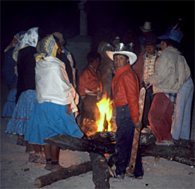 Tarahumara Indians celebrate Easter in Copper Canyon, Mexico.