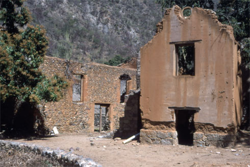 Ruins of the Shepherd Hacienda in Batopilas