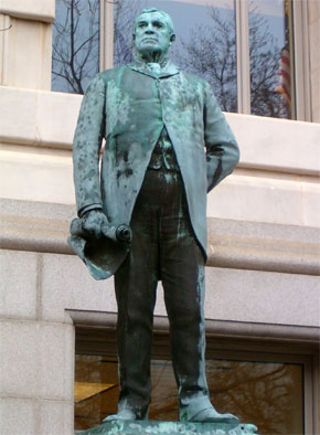 Statue of Alexander Shepherd in Washington D.C.