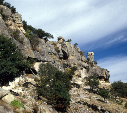 Copper Canyon Cave Dwellings