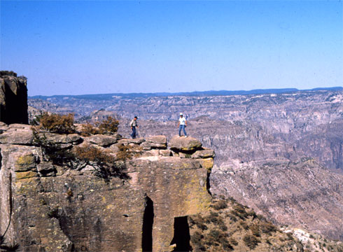 Copper Canyon is four times Larger than the Grand Canyon