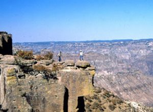 Mexico's Copper Canyon is four times Larger than the Grand Canyon.