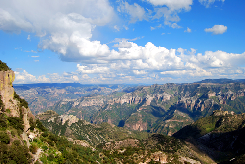 The Copper Canyon has spectacular views!