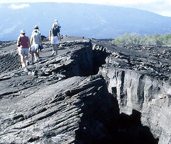 California Natives explore Isabela Island in the Galapagos.