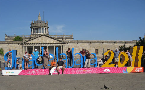 Sculpture for Pan American Games in Guadalajara