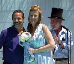 Laurie Kraft and Mike Pepitone Get Hitched