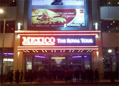 The film, &quot;Mexico: The Royal Tour,&quot; premier in Los Angeles