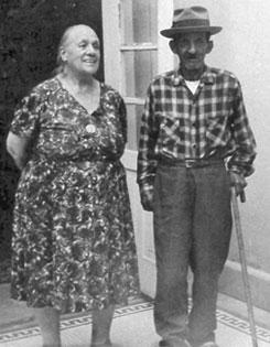Dona Luz Corral de Villa with Ricardo Gonzalez
