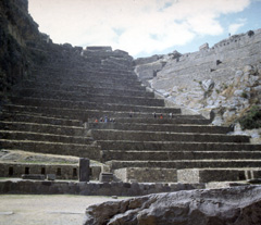 Ruins of Ollantaytambo in Peru's Sacred Valley