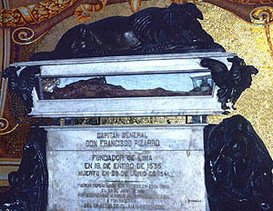 The mummy of Pizarro was an imposter.