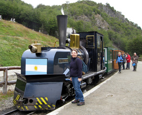 The Prisoner's Train in Ushuia, Argentina