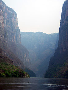 Sumidero Canyon, Chiapas, Mexico