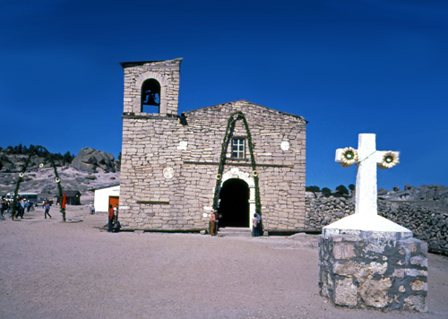 Tarahumara church in the Copper Canyon.