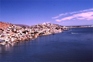 View of Topolobampo Bay.