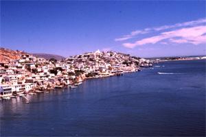 View of Topolobampo Bay.