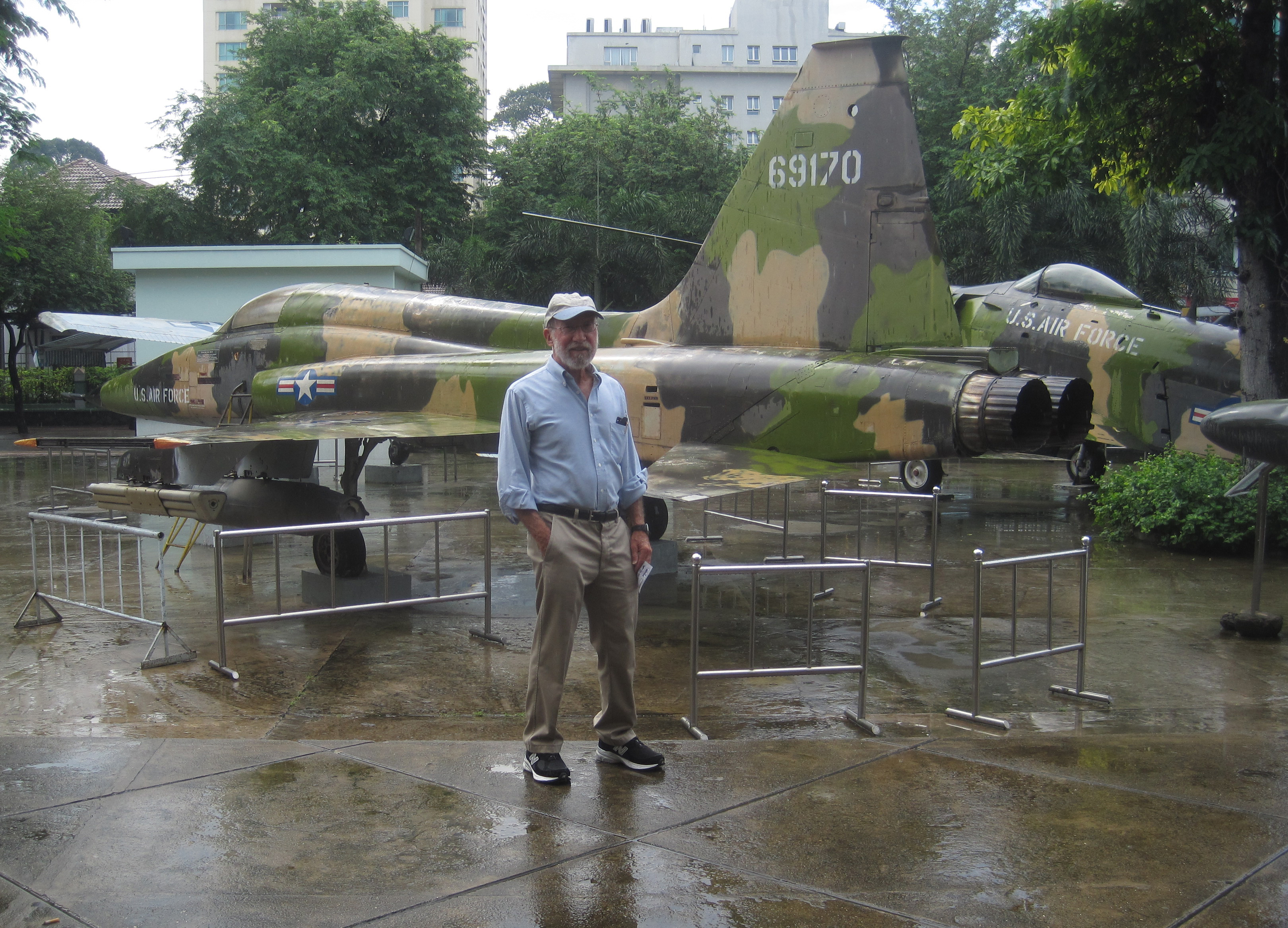 California Native's Lee Klein at Saigon's War Relics Museum