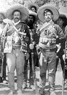 Pancho Villa with Ricardo Gonzalez, great uncle of Bessie