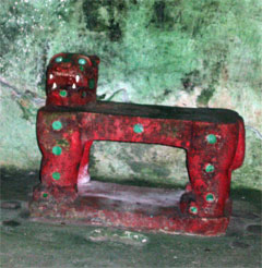 The jaguar throne of Kukulkan
