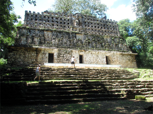 The Mayan archaeological site of Yaxchilan